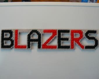 Blazers in Handmade, Needlepoint Magnets