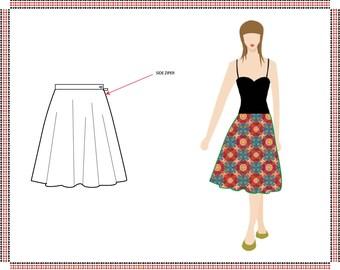 Flare skirt size 10-12