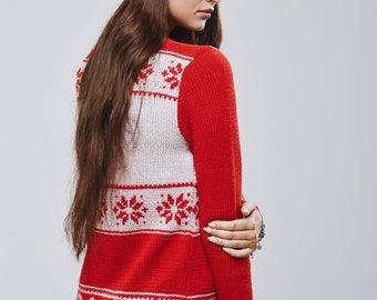 handmade merino pullover