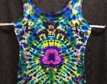 Women's Tie-Dye Psychedelic Tank
