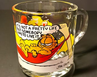 Garfield & Odie 1978 McDonald's Mug