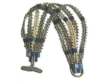 Wrap and Drape Bracelet Tutorial