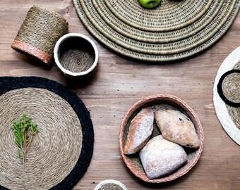 Woven Storage Baskets.  Bread Baskets.