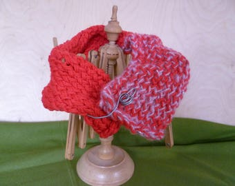 Scarves Neck with brooches