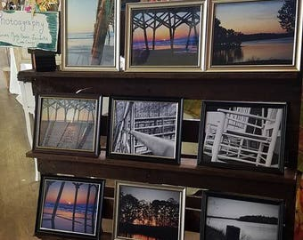 Various canvas board mounted Photography