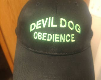 Devil dog obedience hats