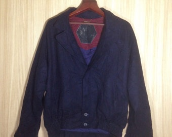 Rare!! Vintage Dunhill Sport Wool Jacket Coats