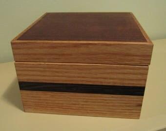 Wooden Keepsake Box