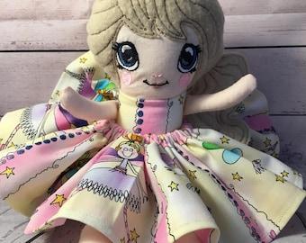 Handmade Fairy Cupcake doll
