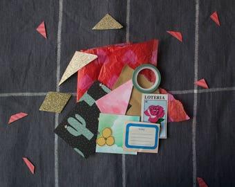 Art Journaling Surprise Bag