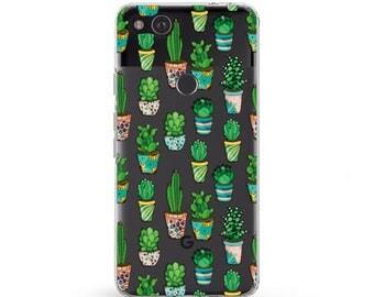 Cactus case Samsung Galaxy s8 Succulent phone case Pixel cases Cactus clipart LGG6 phone case Floral Succulent plant case Samsung note 8
