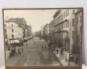 Photograph of Main Street Mass