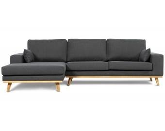 Eckcouch grau schwarz  Couch | Etsy