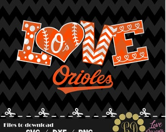 Baltimore Orioles svg,png,dxf,cricut,silhouette,jersey,shirt,proud,birthday,invitation,sports,cut,girl,love,softball,2018,decal,bulldogs