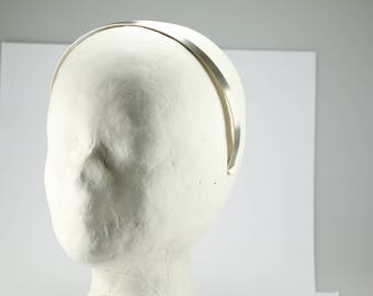 Silver headband made of sterling silver 925, classic and very stable