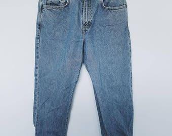 Vintage Calvin Klein denim mom jeans boyfriend jeans designer high waisted