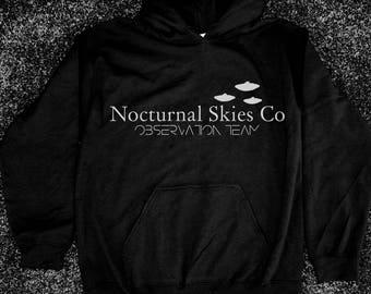Nocturnal Skies Co. Observation Team hoodie