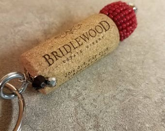 Wine Cork Key Chain #9