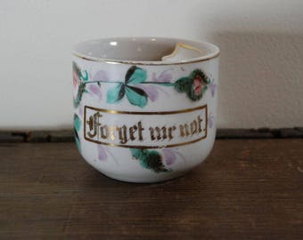 Forget Me Not Mustache Cup