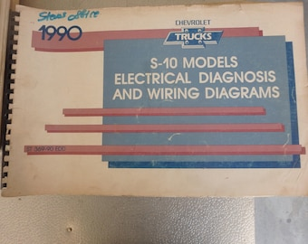 1990 chevrolet electrical diagnosis and diagrams- S-10 models