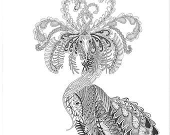 Mardigras -Print