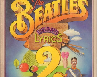ALDRIDGE, Alan. The Beatles Illustrated Lyrics 2