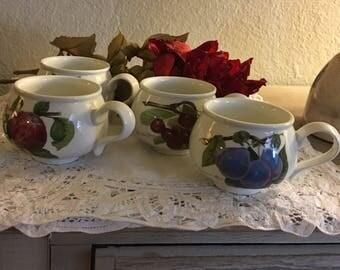 Portmeirion Pomona Breakfast Mugs