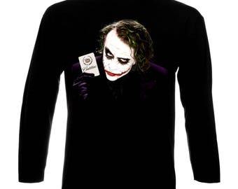 Inspired By Cadillac Logo Car Auto Batman Joker Long Sleeve T-Shirt