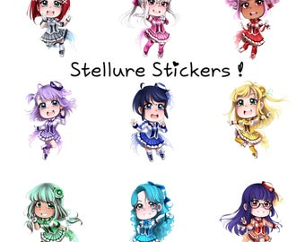 Stellure Chibi Stickers