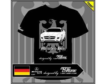 T-shirt Mercedes-Benz SLS 63 AMG C197