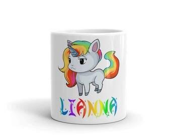 Lianna Unicorn Mug