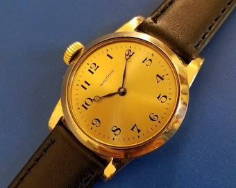Stunning Antique 1920s Mans WALTHAM Hand Winding FULLY SERVICED