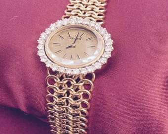 Ladies Rolex Diamond Bezel 18kt. Watch