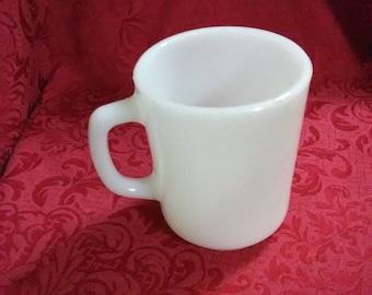 Vintage fire king coffee mug.