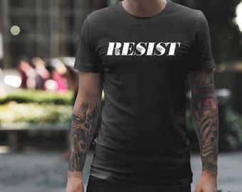Men's Feminist Resist Short sleeve t-shirt