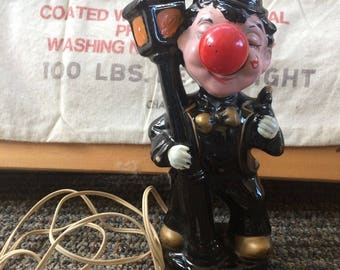 Hobo Vintage Lamp post Red Nose