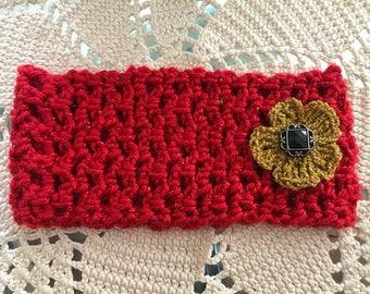 Crocheted Headband/Ear Warmer - Item #HB107