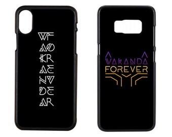 Wakanda Forever, Black Panther Case, Wakanda Case, Erik Cace, Erik Killmonger Case, Iphone x Case, Iphone 7 Case, Samsung Case, Phone case
