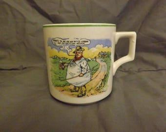 keele street pottery mug