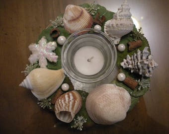 Beach House Candle Holder