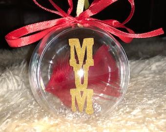 Christmas Name Baubles/Handmade personalised baubles/christmas tree decoration/Christmas Tree Name Decoration/Personalised Christmas Bauble