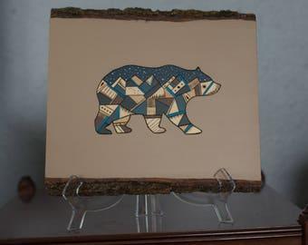 Woodburning Bear