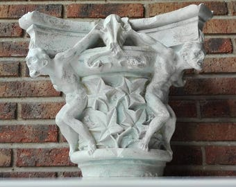 Capital plaster at the end of the 19th century