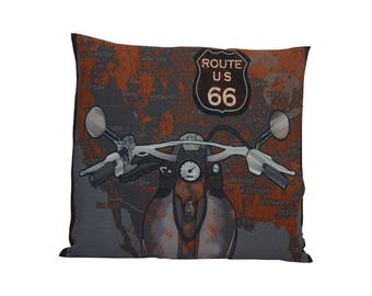 ROUTE 66 print Cushion cover