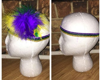 Mardi Gras headbands