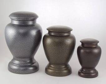 Steel Vase Urns