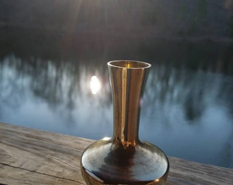 Vintage Paradies Collection brass vase