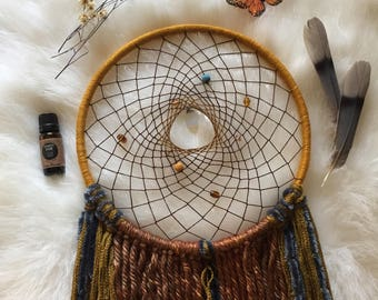 Vintage Vibes Aromatherapy Dream Catcher