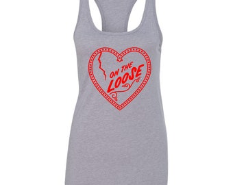"Niall Horan ""On The Loose Heart"" Racer Back Tank"
