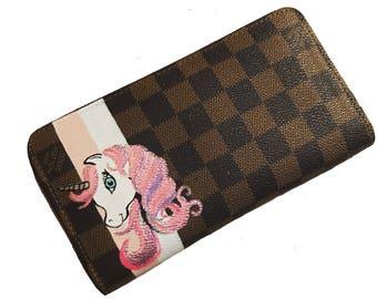 Louis Vuitton Custom wallet Small Design